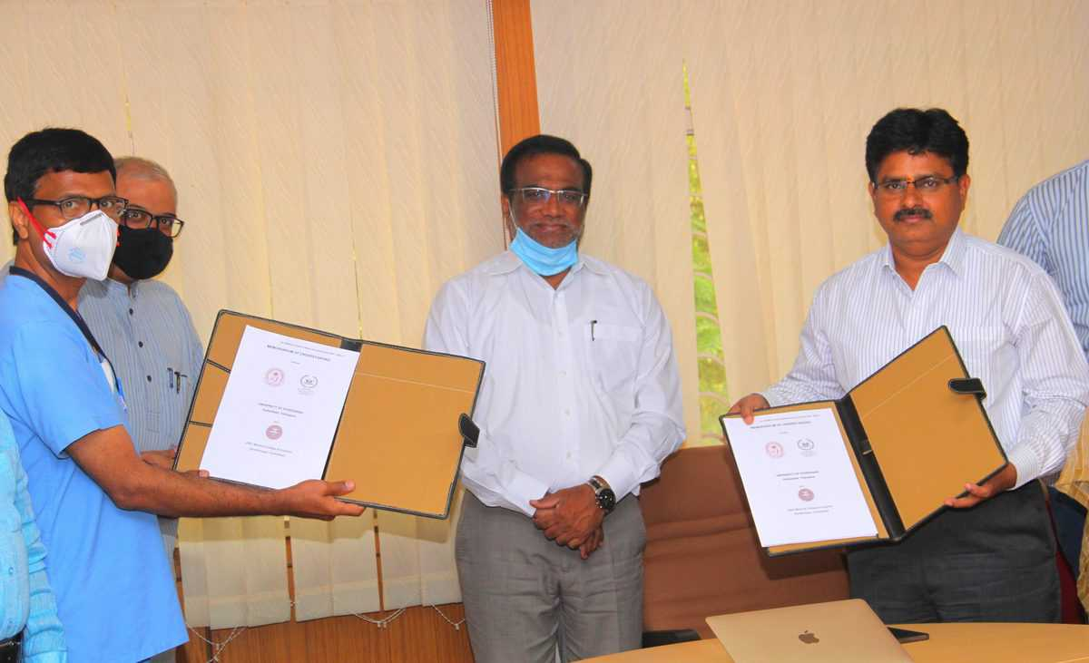 University of Hyderabad and ESI Hospital ink MoU, to collaborate