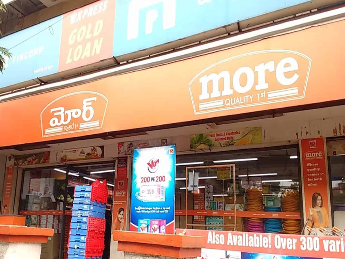More Supermarket fined Rs 15k for selling carry bags with logo