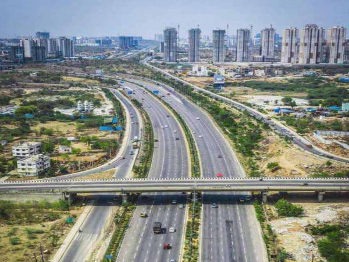 Hyderabad Regional Ring Road project construction survey to begin