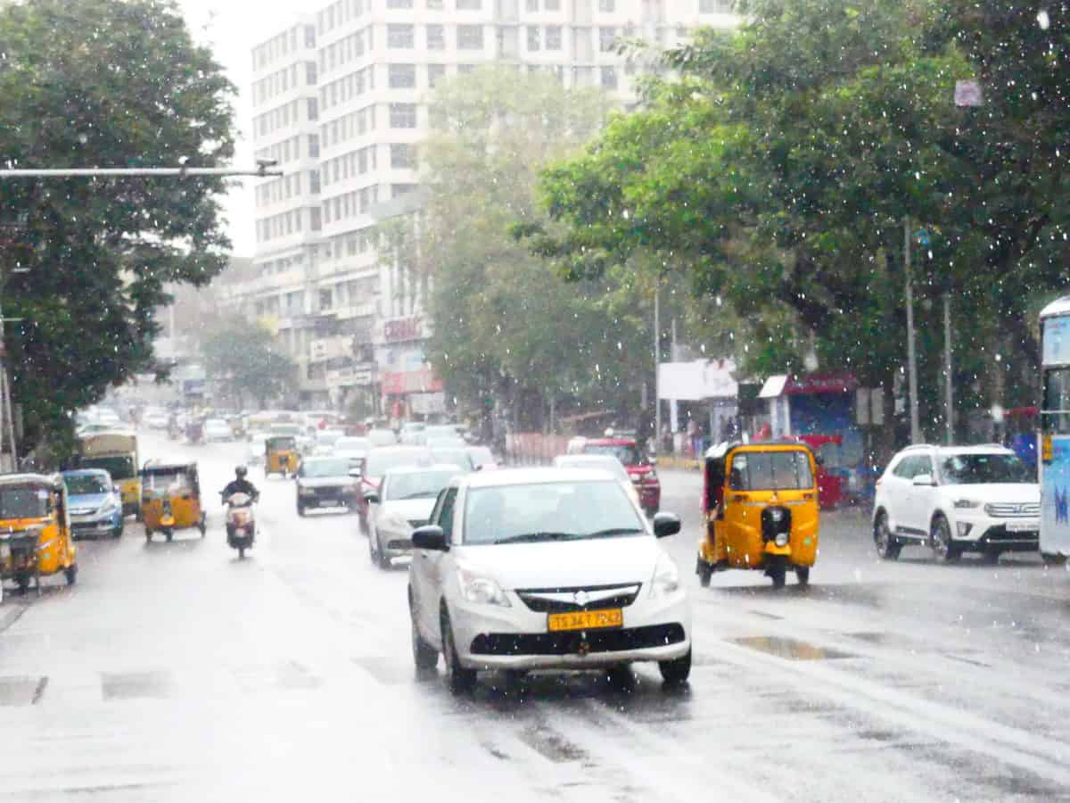 Telangana likely to witness thunder showers for 5 days