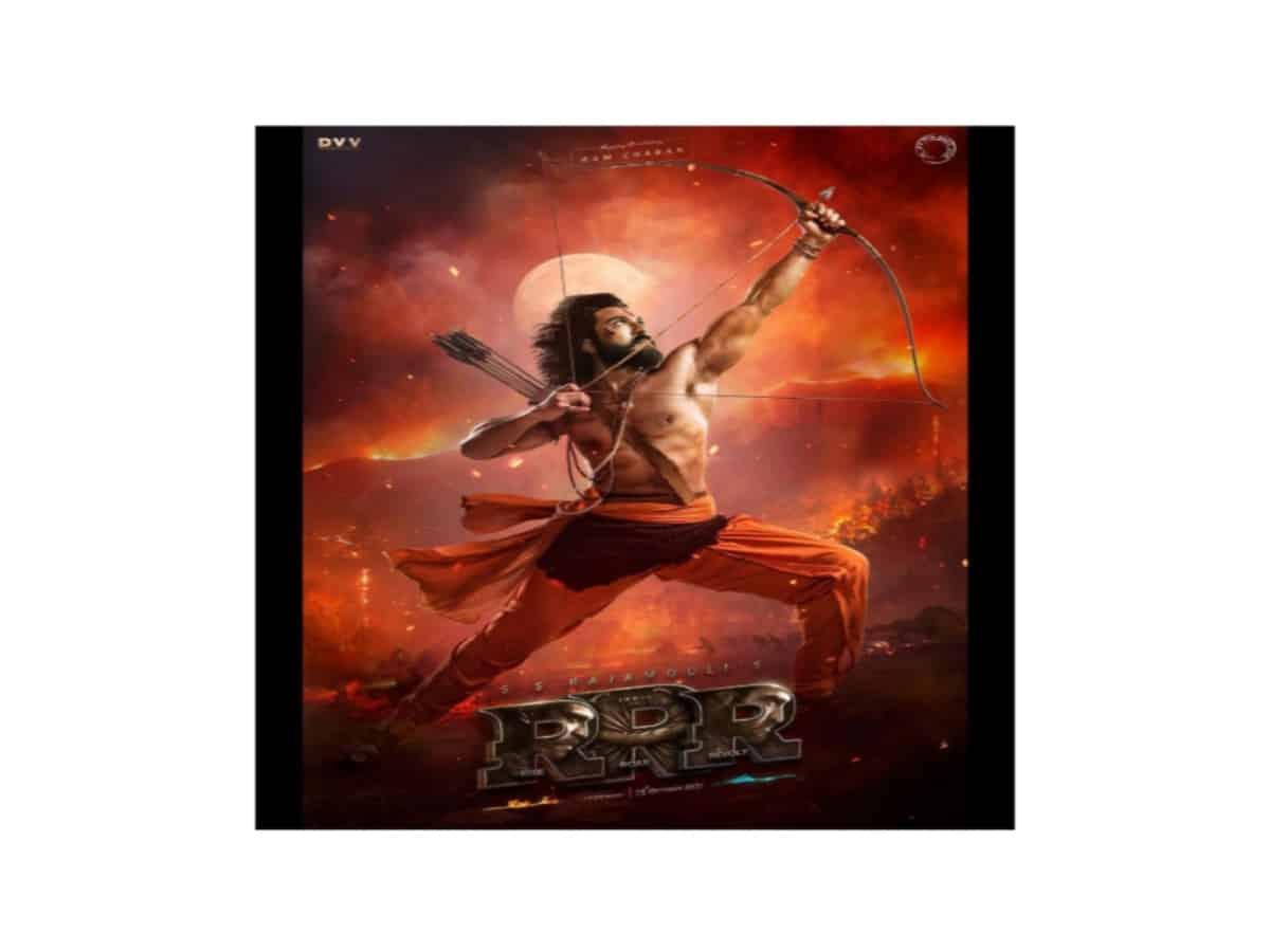 Powerful & fiery: Ram Charan's look as Alluri Sita Ramaraju from RRR unveiled