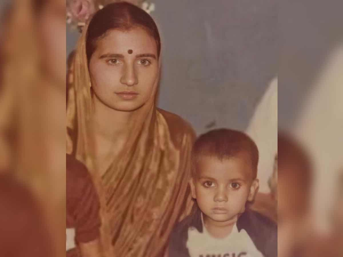 'Proud to be your son': Rajkummar Rao remembers mother on her death anniversary