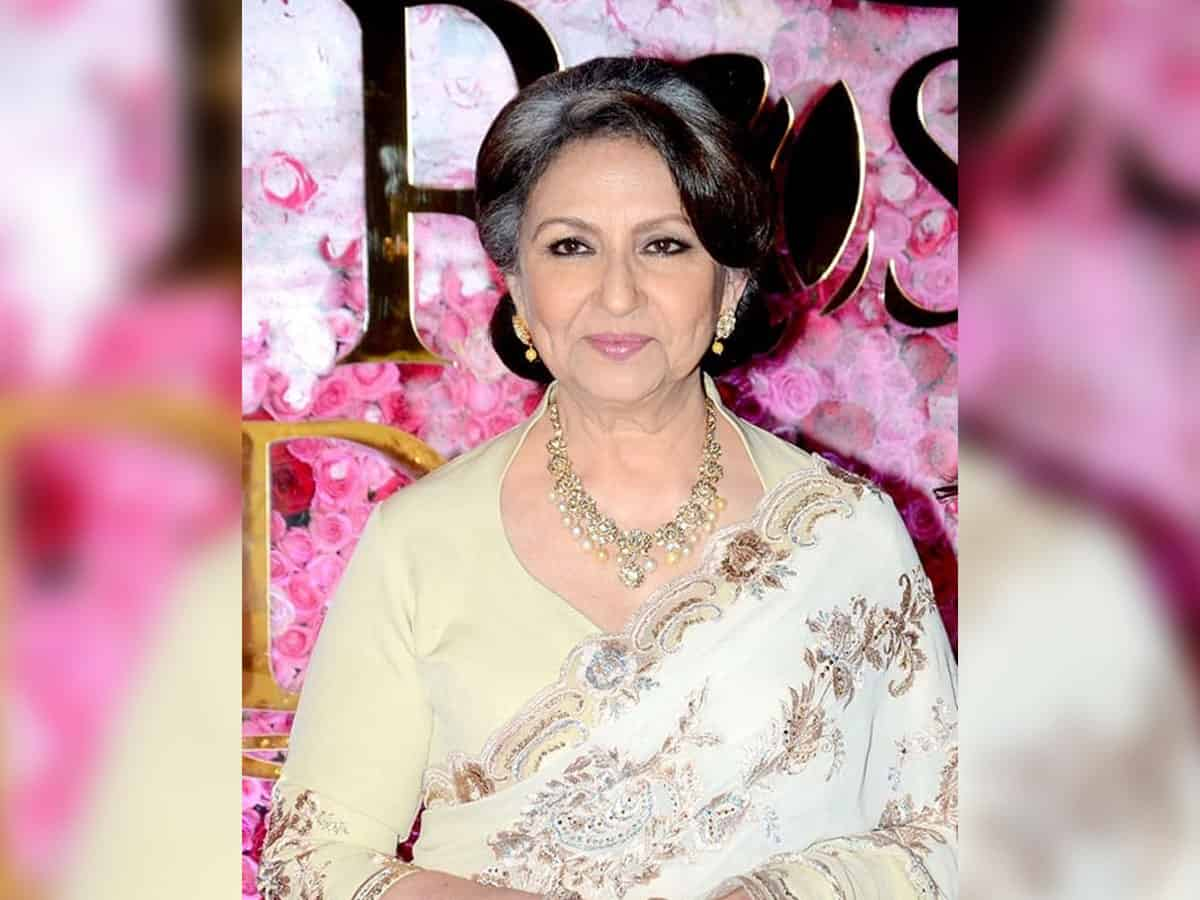 Sharmila Tagore receives her first shot of COVID-19 vaccine
