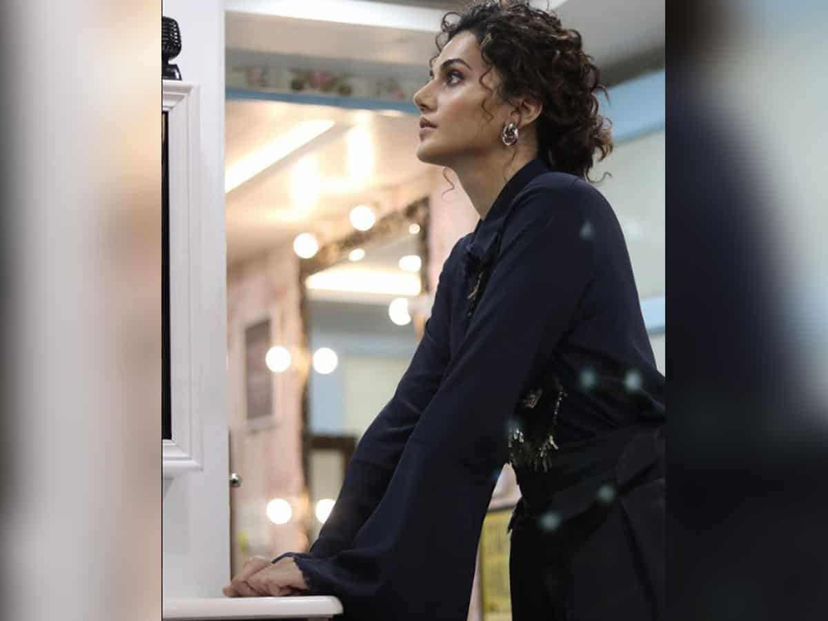 Taapsee Pannu reacts to three days of income tax raids