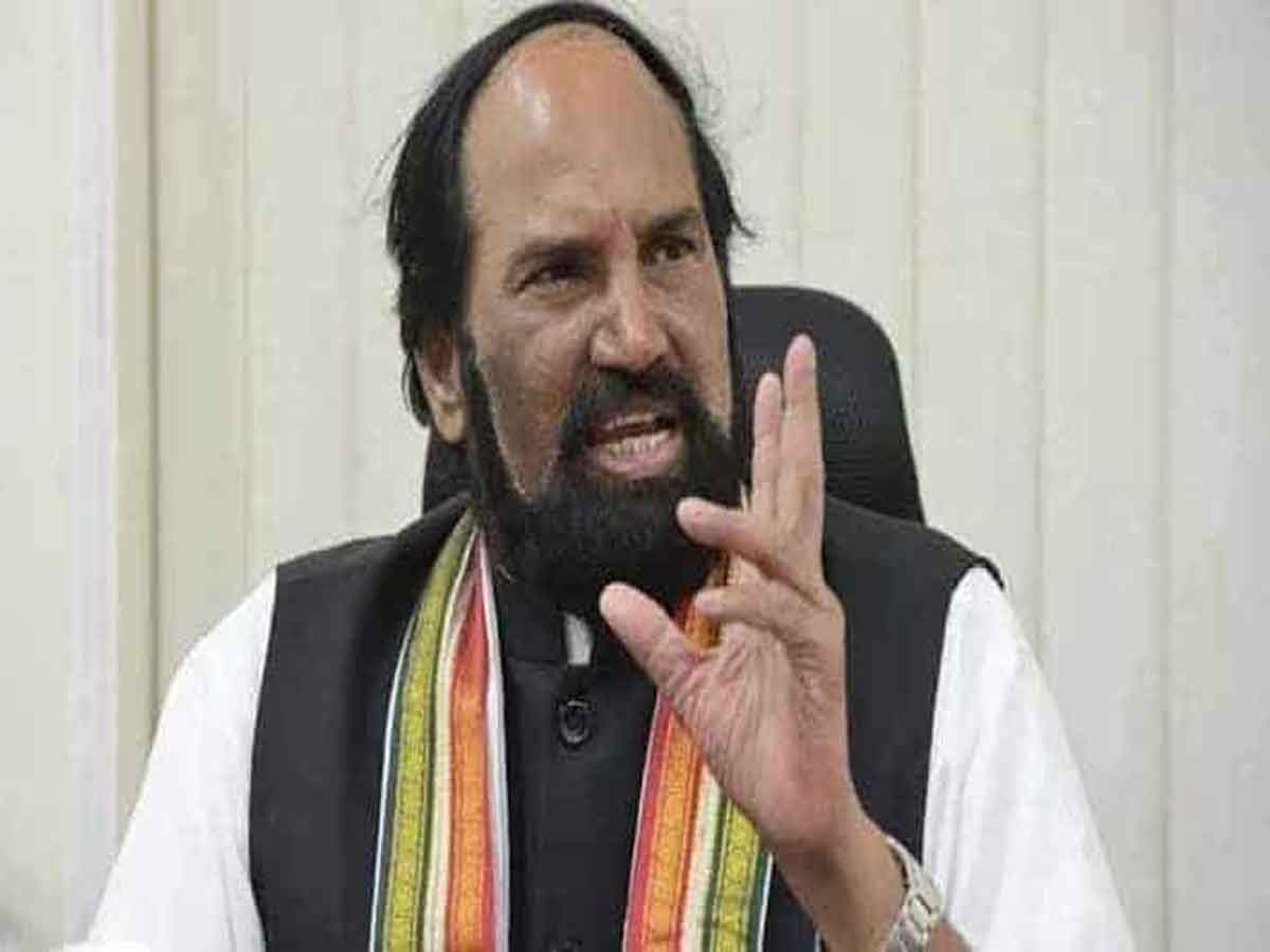 TRS luring voters in MLC polls with huge cash, alleges Uttam