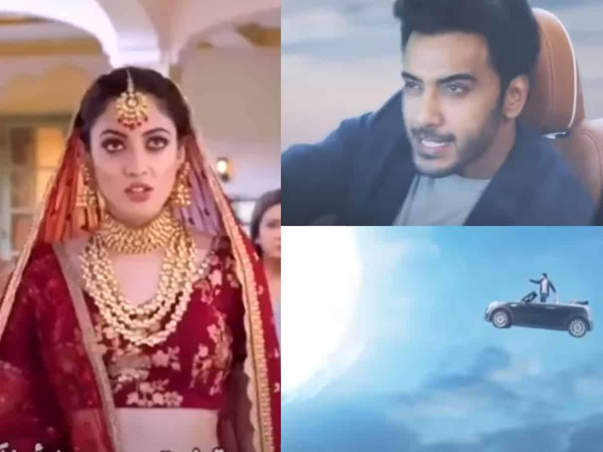Viral video: In this bizarre TV serial, man fetches bride 'Chand ka tukda' in a car!
