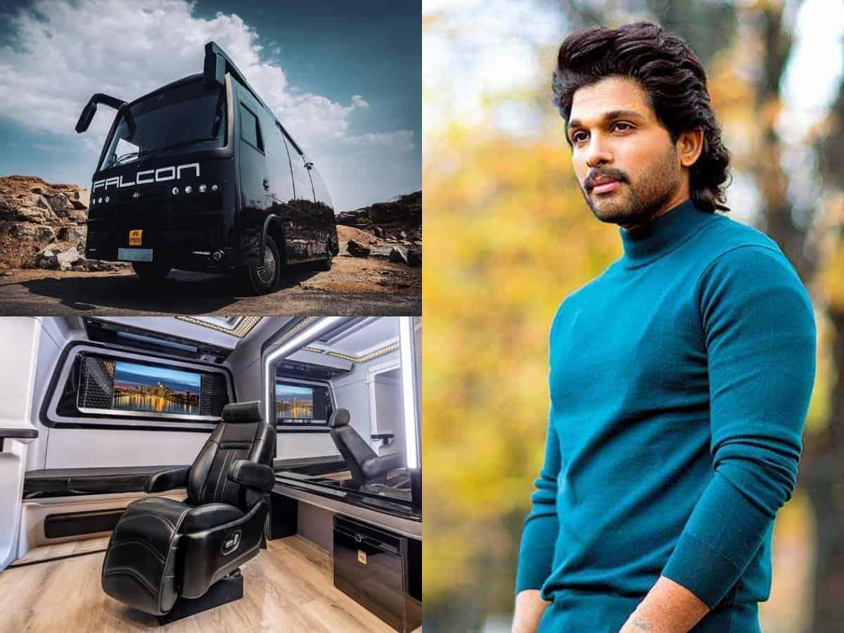 'Palace On Wheels': Have a look at Allu Arjun's luxurious Rs 7 crore vanity van
