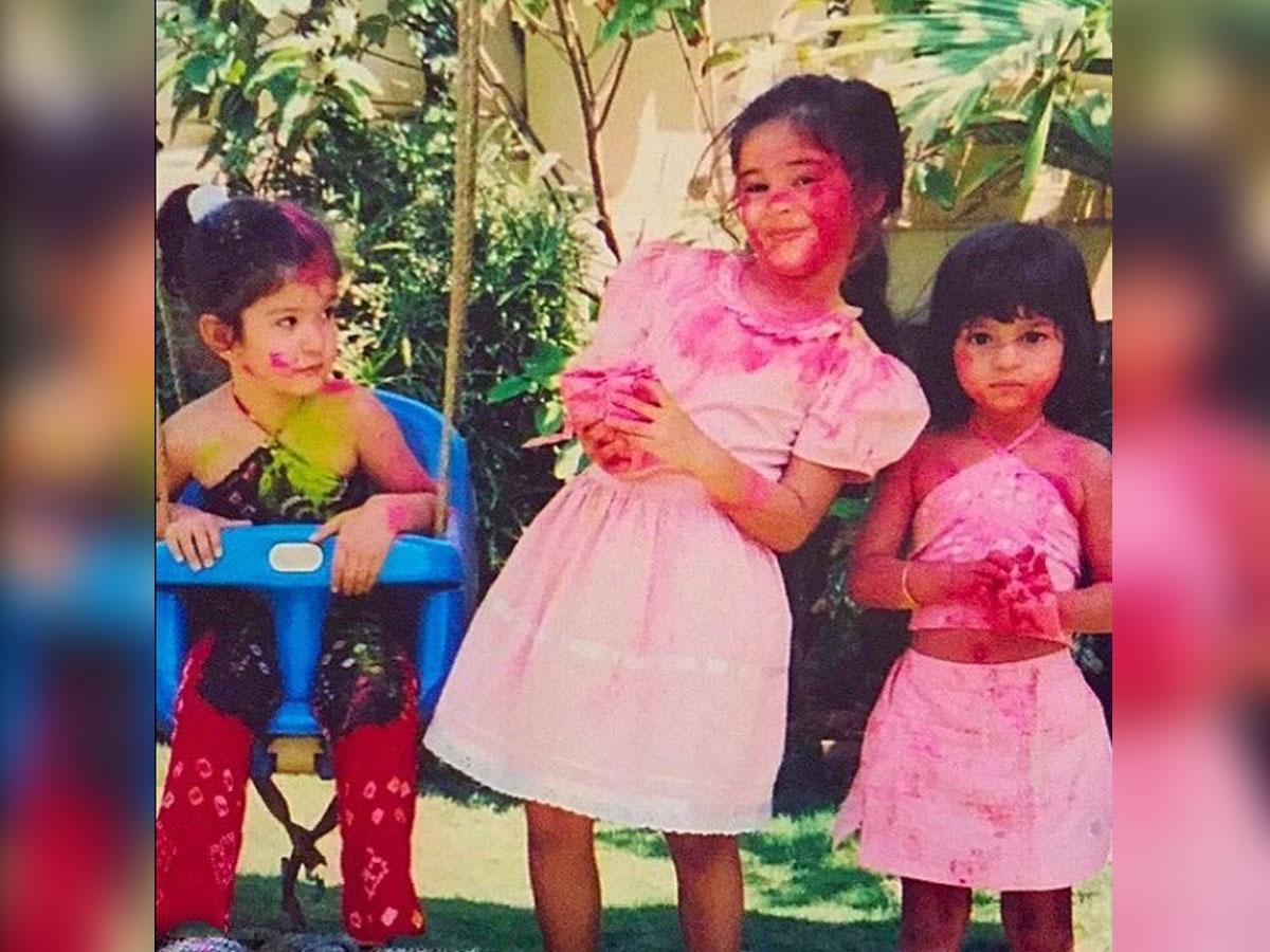 Ananya Panday shares fond Holi memories with Shanaya Kapoor, Suhana Khan