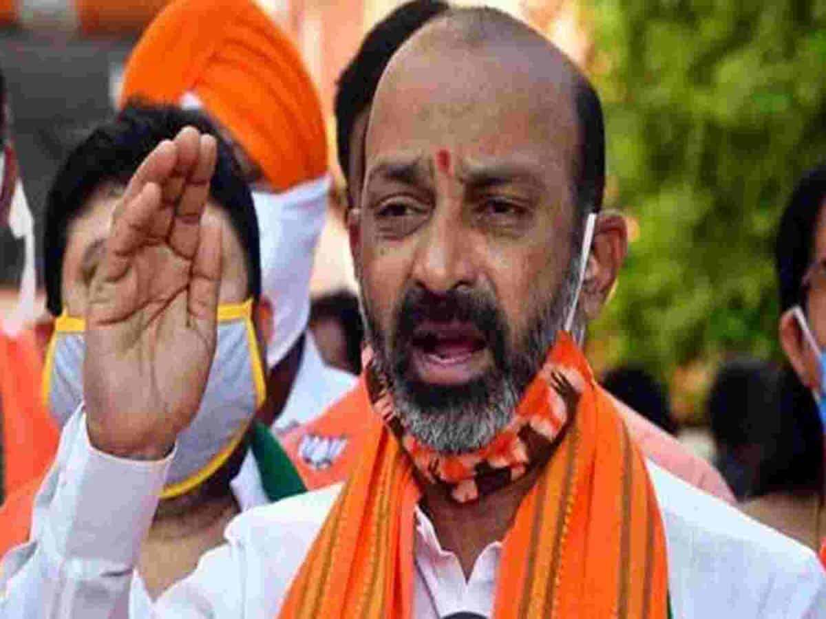 TRS is adopting wrong means to win MLC elections : Bandi Sanjay
