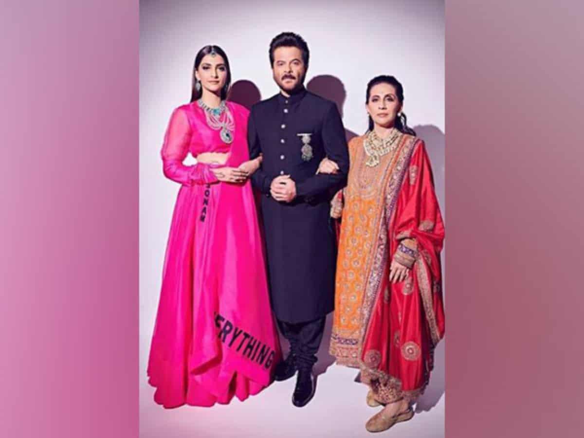 Anil, Sonam share throwback pictures with heartfelt notes on Sunita Kapoor's birthday