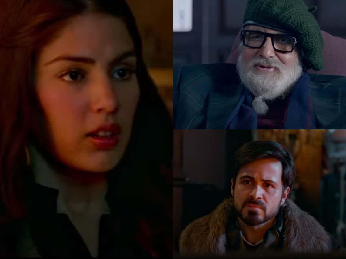Chehre trailer: Rhea Chakraborty makes appearance in Big B-Emraan's starrer