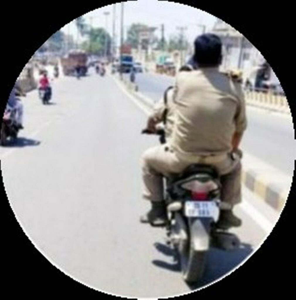 Hyderabad: Cop breaks traffic rule, photo goes viral