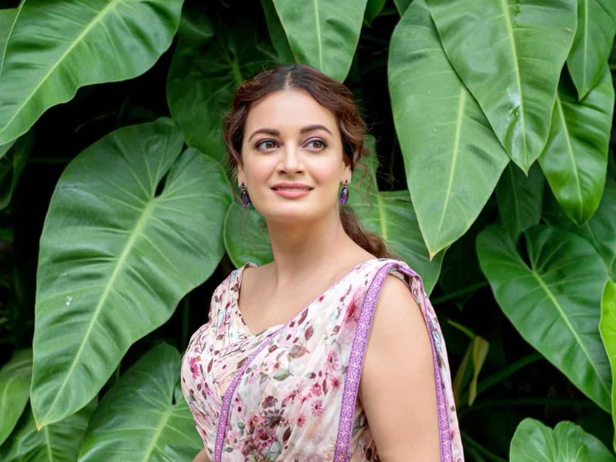 1 in 4 children will live with water scarcity by 2040 : Dia Mirza