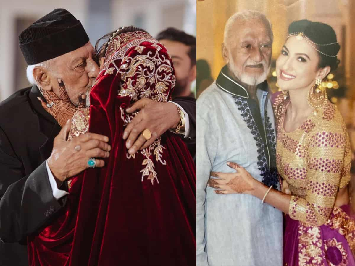 Gauahar Khan's father Zafar Ahmed Khan passes away