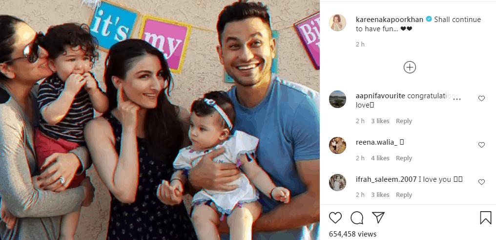 Kareena Kapoor Khan recollects memories of completing 365 days on Instagram