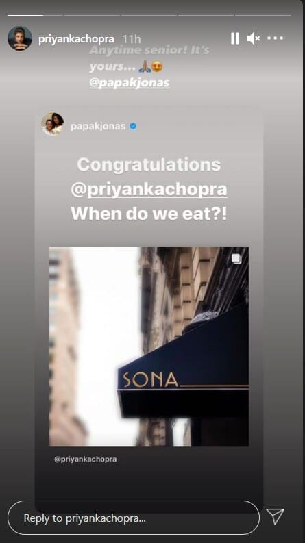 Priyanka Chopra ventures into food business; launches Indian restaurant in New York