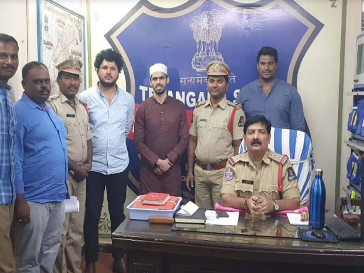 HYC NGO President Salman Khan detained under PD Act