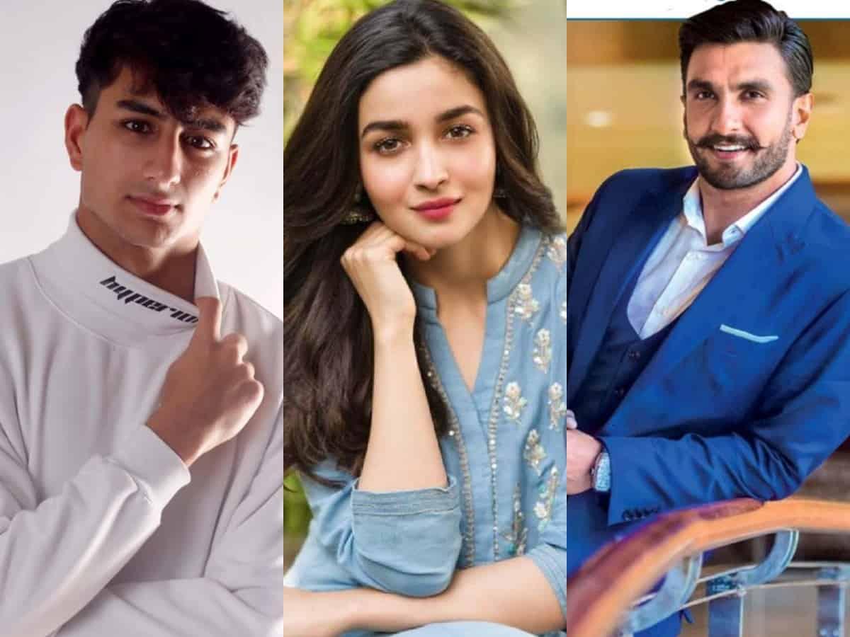 Ibrahim Ali Khan makes Bollywood debut with Alia Bhatt, Ranveer Singh