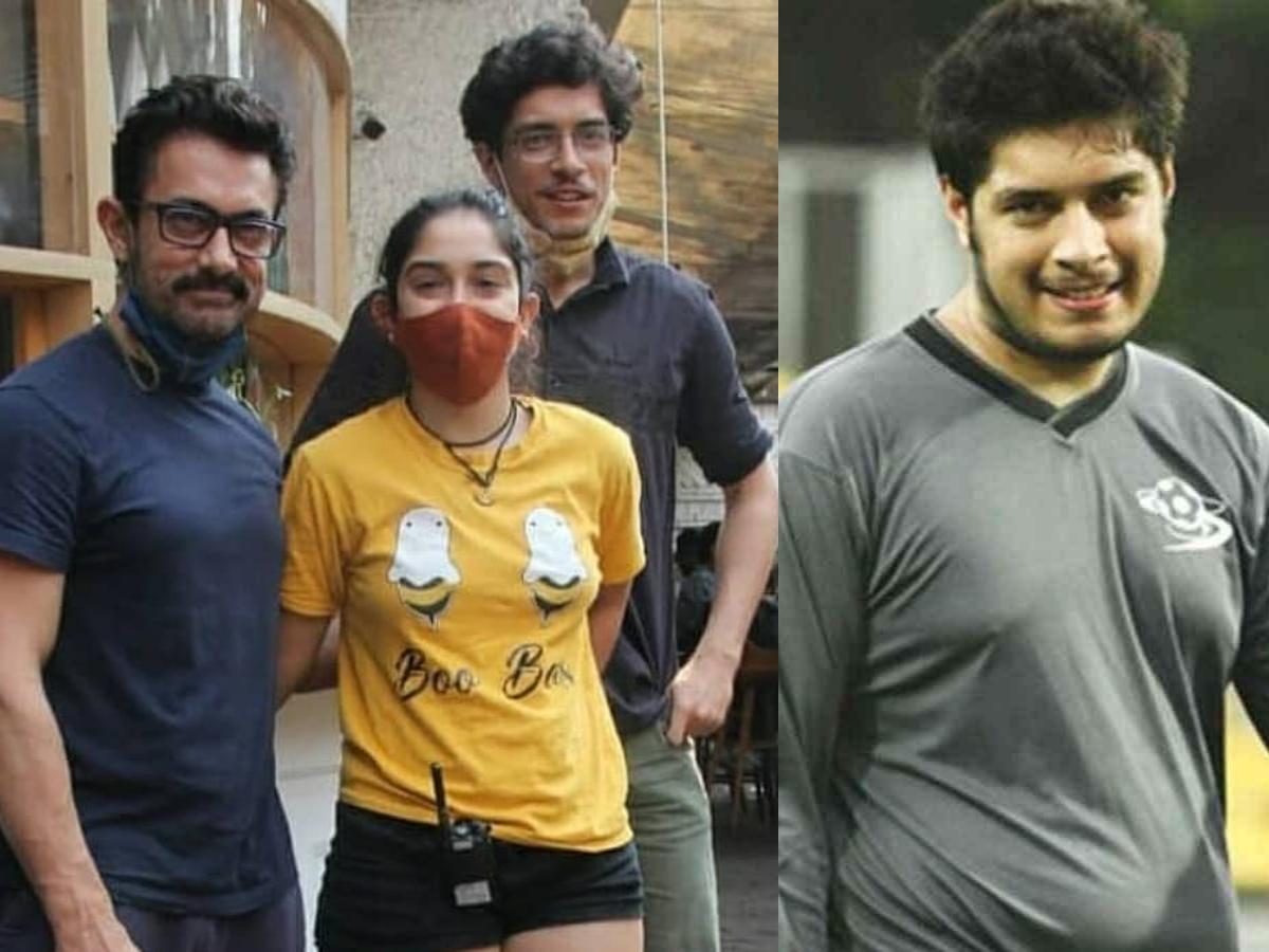 Aamir Khan's son Junaid's massive transformation leaves netizens stunned; see pics