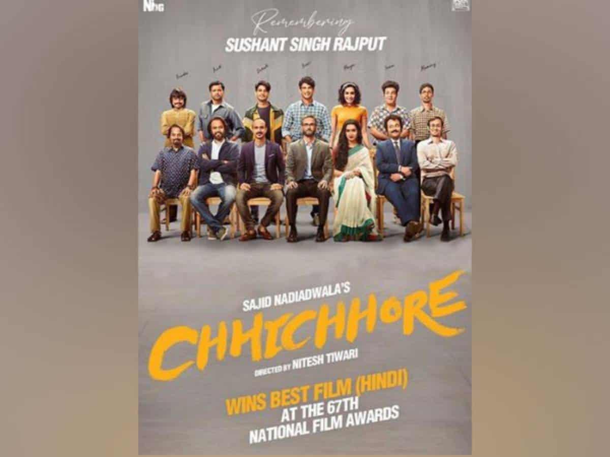 Shraddha Kapoor pens note for team 'Chhichhore' as movie bags National Film Award