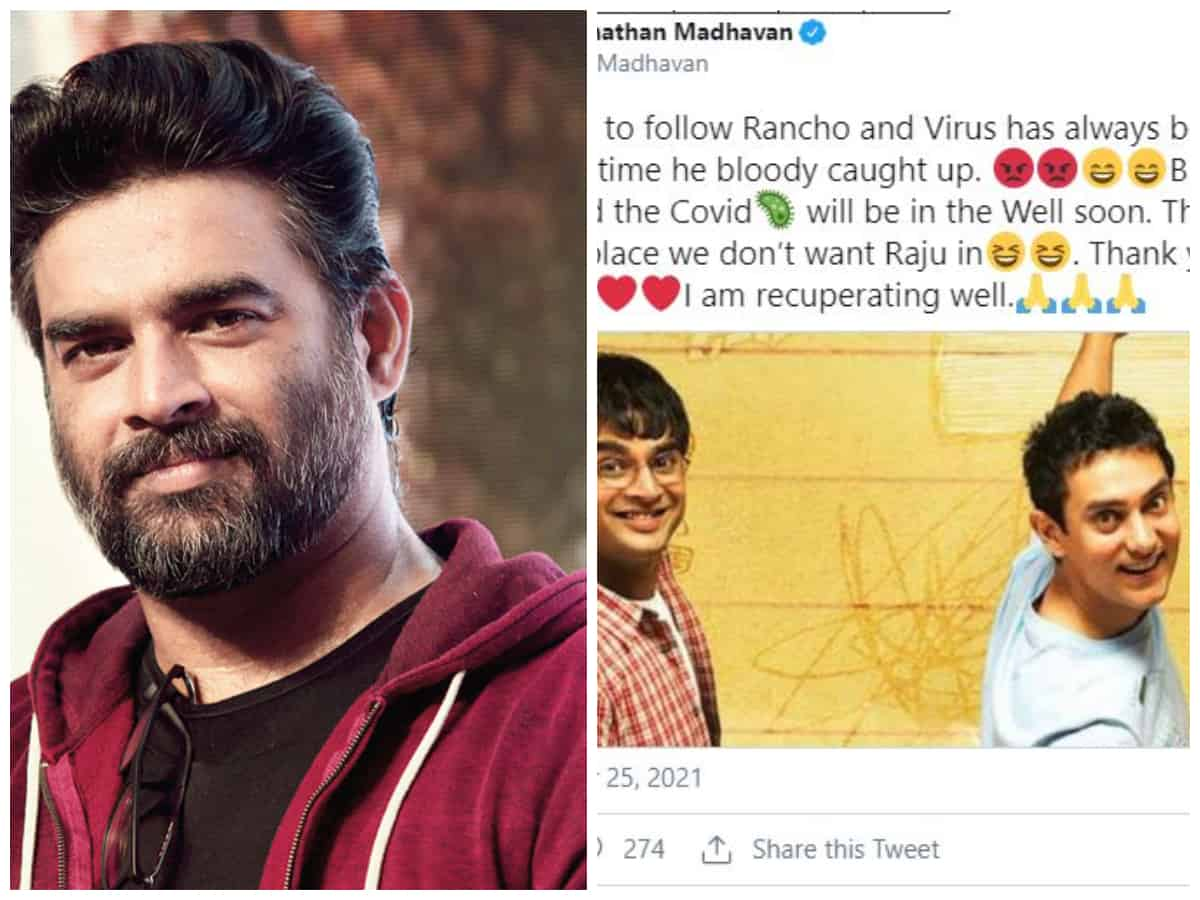 'Virus has always been after us': R Madhavan's '3 Idiots' reference after testing COVID positive