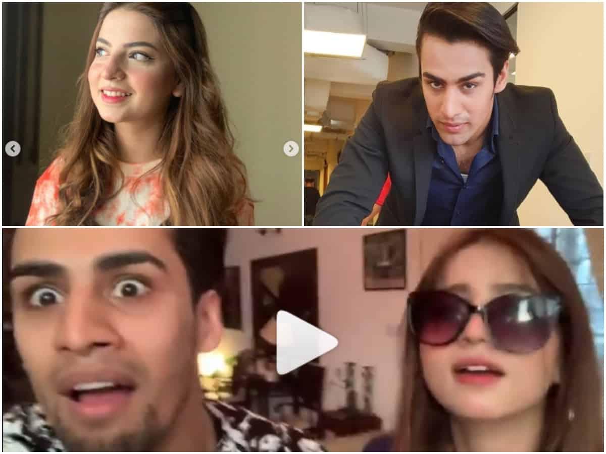Watch: Laughter riot as 'Pawri' girl meets 'Maaro Mujhe Maaro' guy