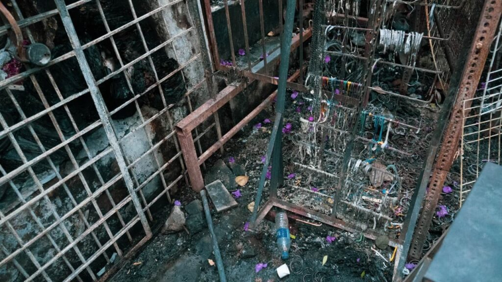 Hyderabad: 16 shops gutted outside Yousufain Dargah