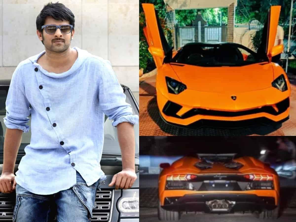 Watch: Prabhas brings home swanky, multi-crore Lamborghini Aventador
