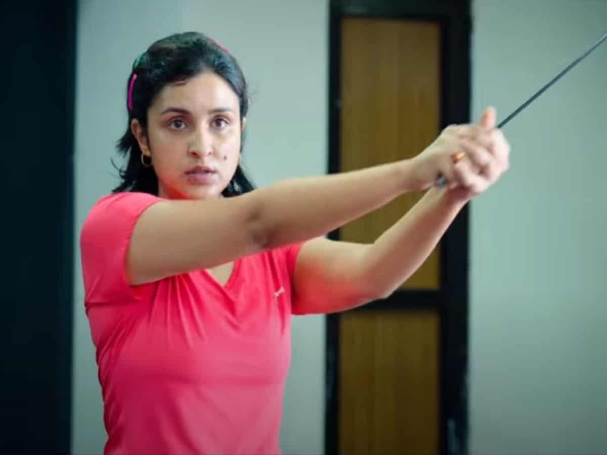 Watch: Parineeti Chopra unveils workout anthem 'Parinda' from 'Saina'
