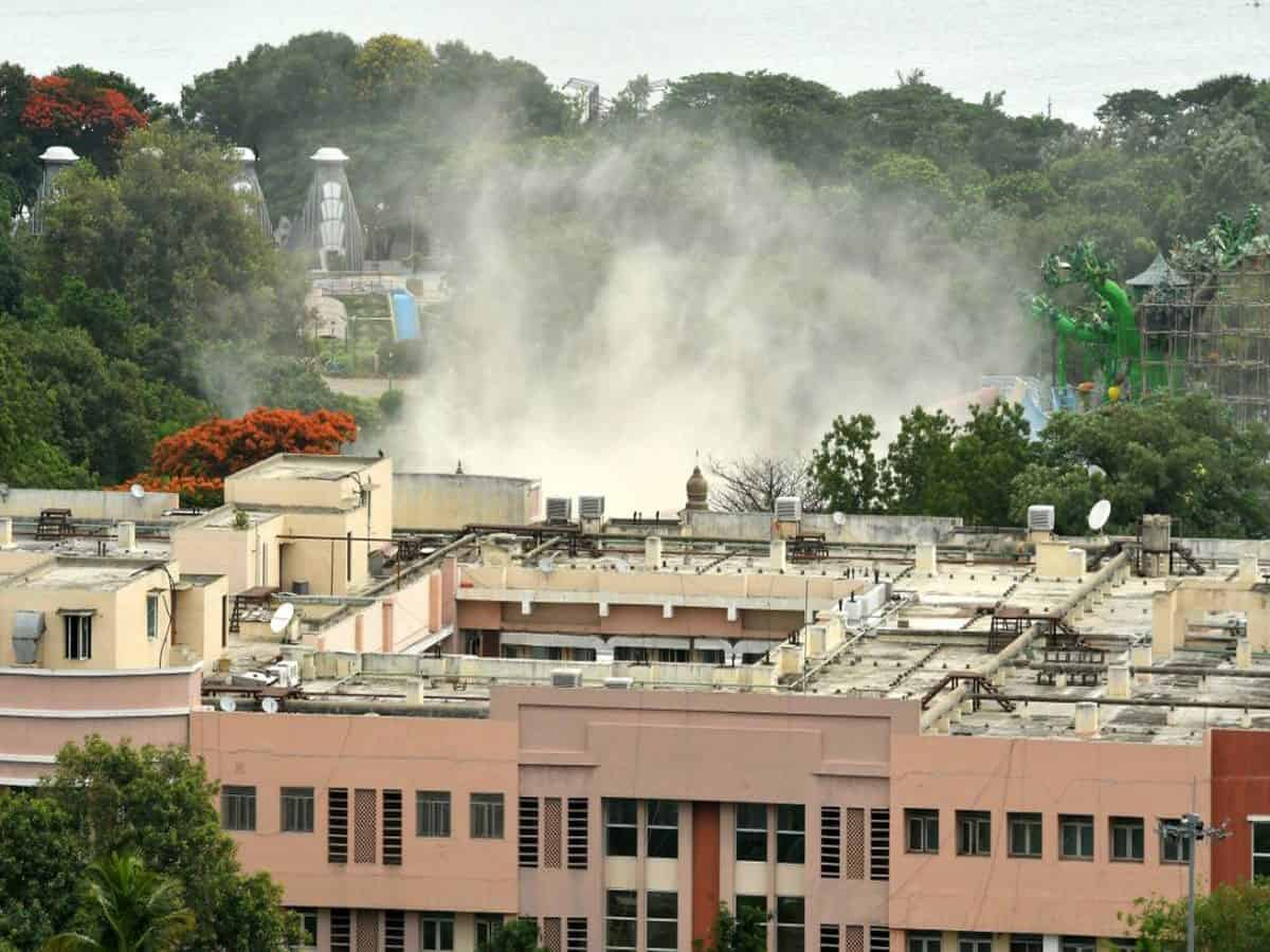 Hyderabad: Razed mosque at secretariat to be built at same place