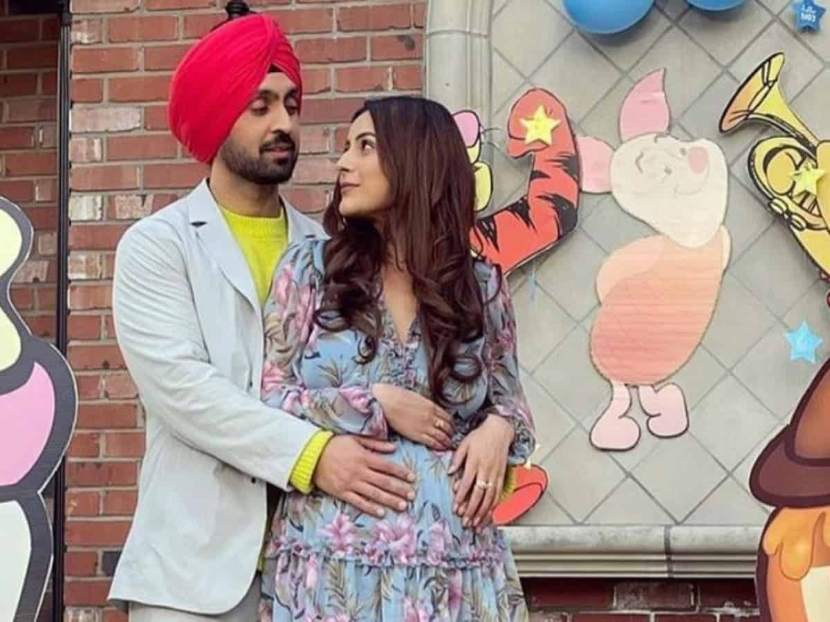 Shehnaaz Gill flaunts her baby bump in this viral pic with Diljit Dosanjh