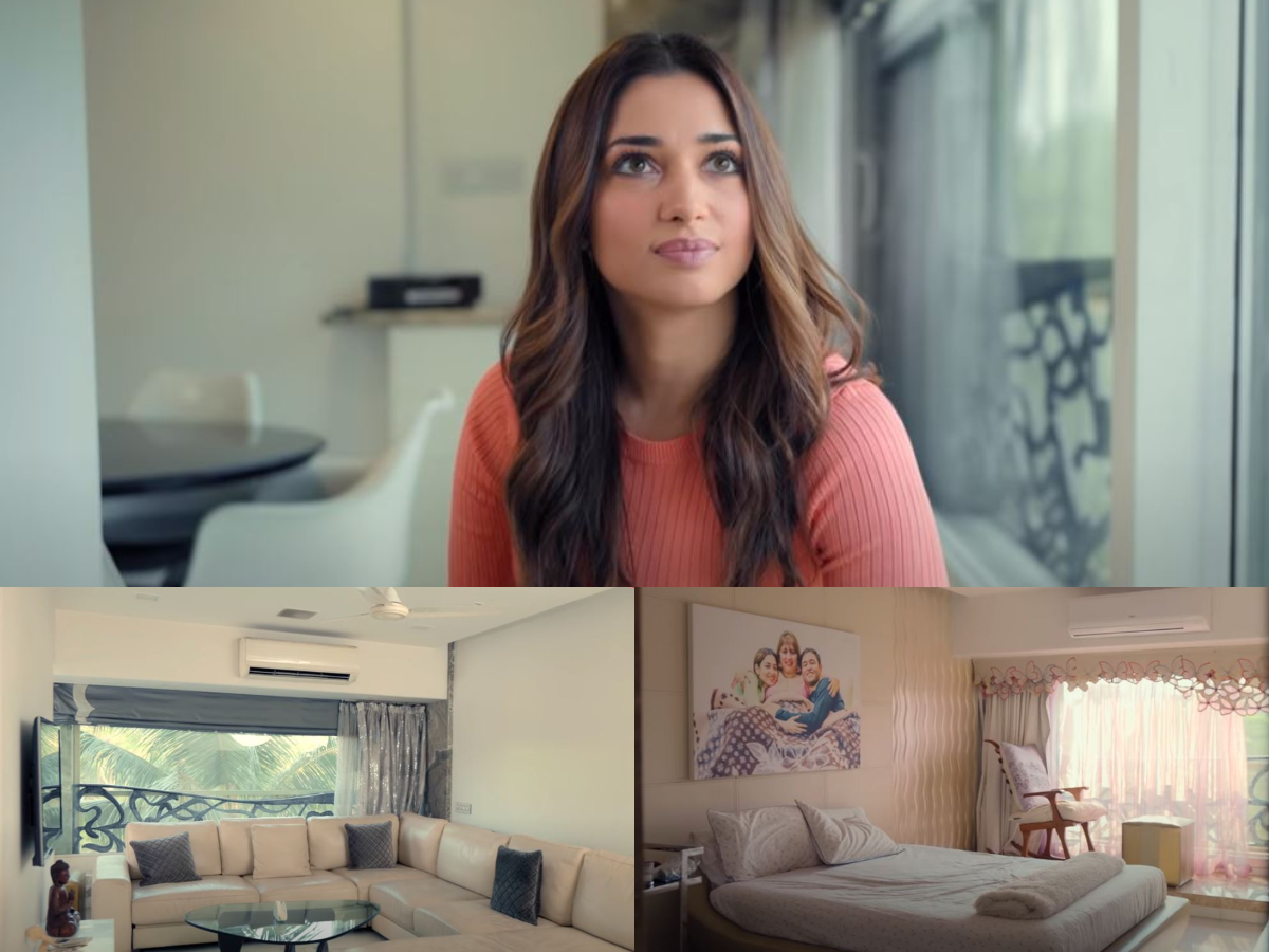 Step inside Tamannaah's 'cozy and contemporary' Mumbai home [VIDEO]