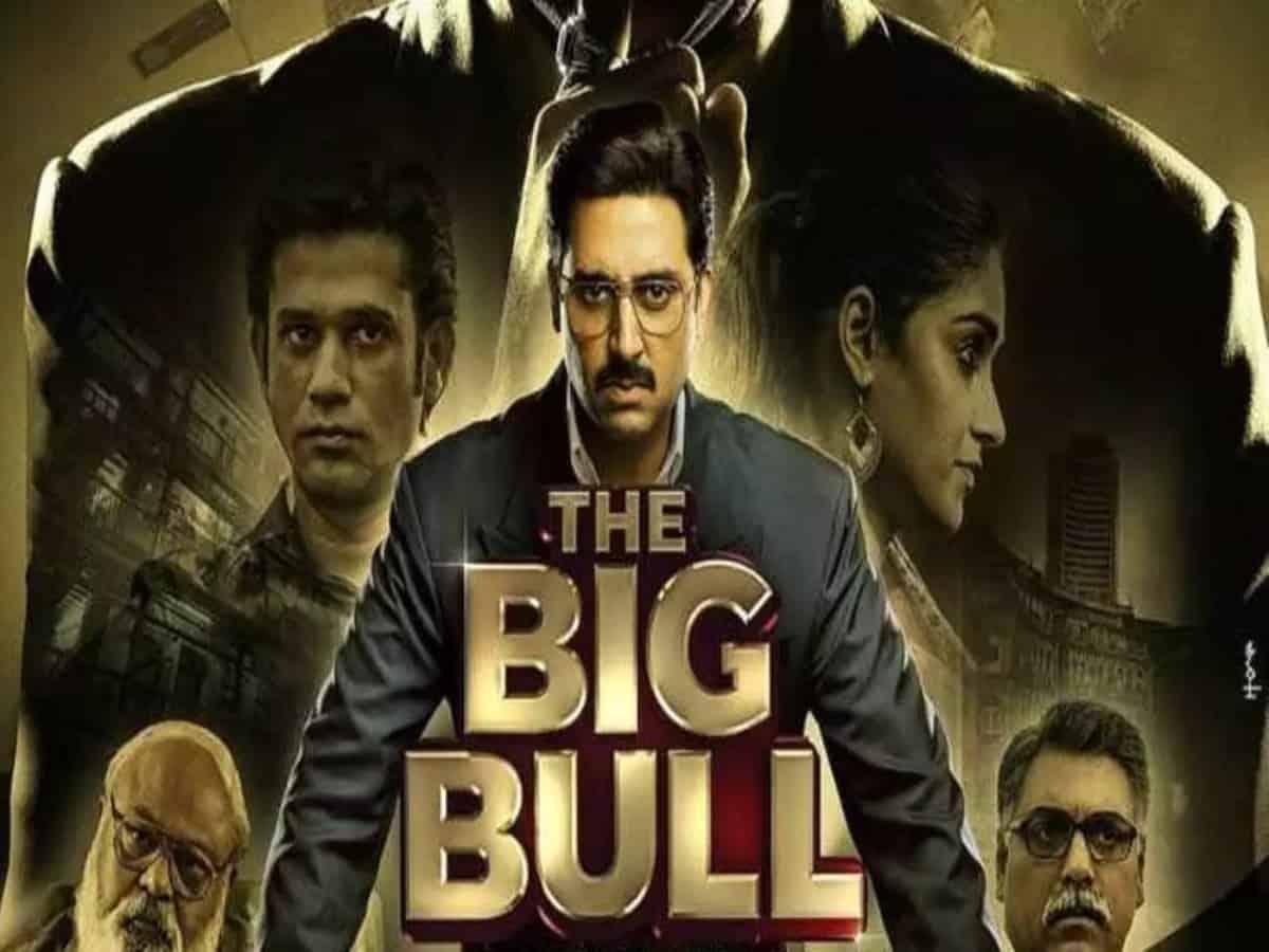'The Big Bull' trailer is out; Abhishek Bachchan plays Harshad Mehta