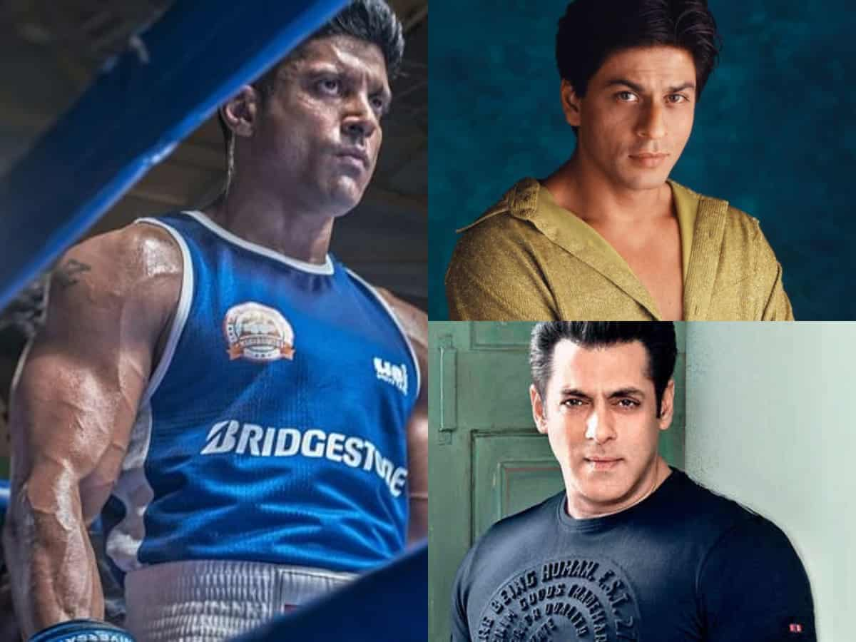 Salman Khan, Shah Rukh Khan and others laud Farhan Akhtar's 'Toofaan' teaser