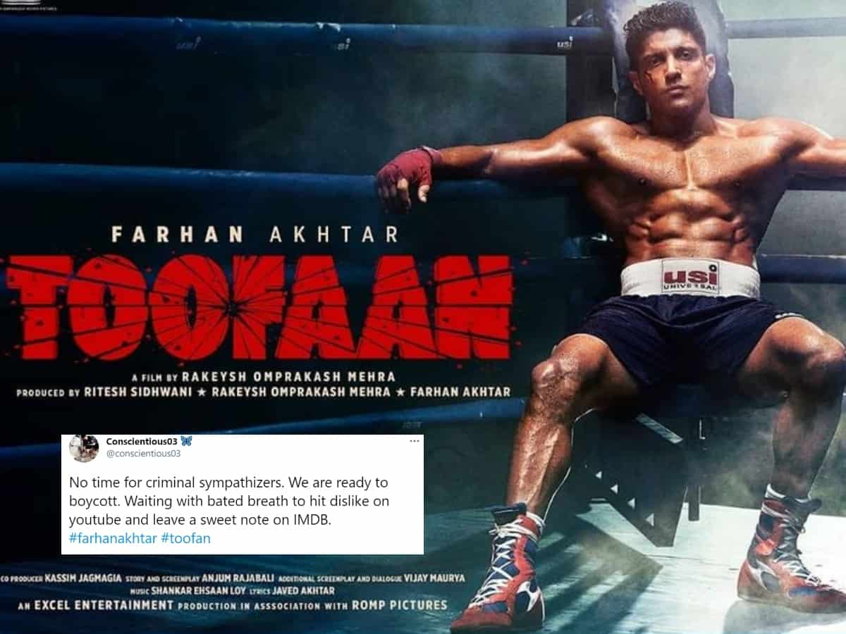 Netizens warn boycotting Farhan Akhtar's 'Toofan' over his support to anti-CAA protests