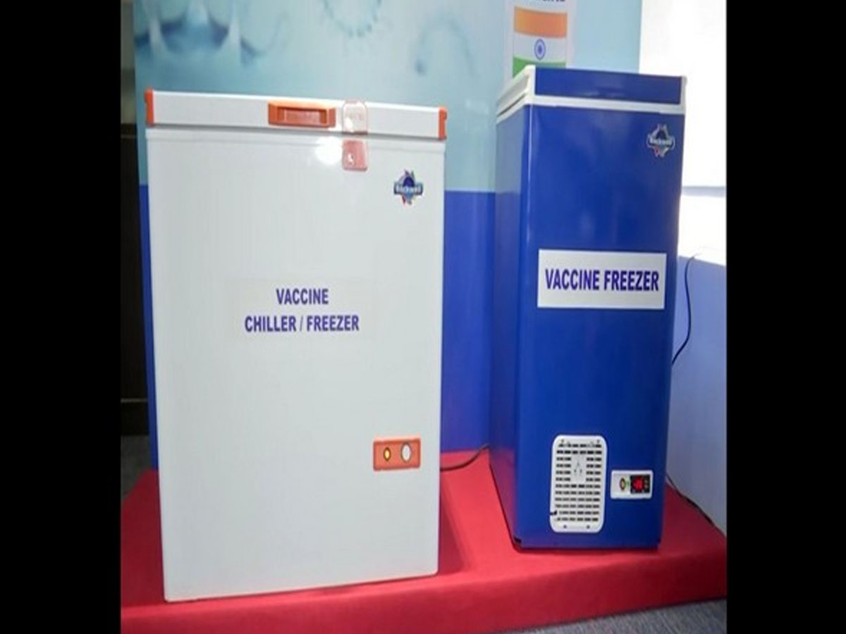 In a first, COVID-19 vaccine storage freezer, powered by hybrid renewable energy launched in Hyderabad