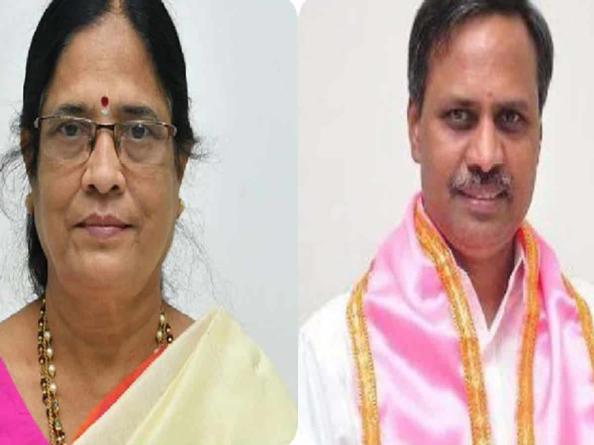 MLC polls: TRS candidates Vani Devi, Rajeswar leads in early counting