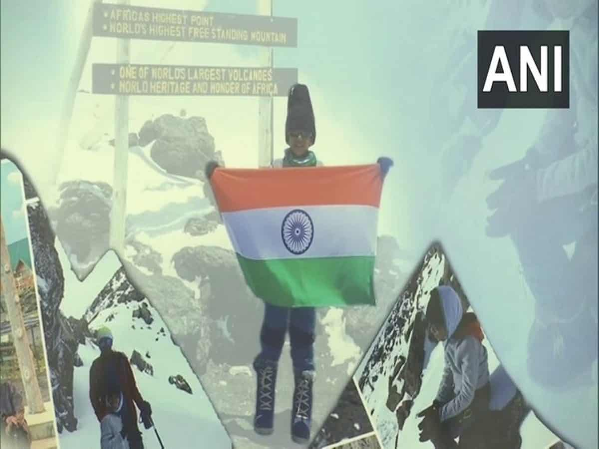 Seven-year-old boy from Hyderabad scaled Mt Kilimanjaro