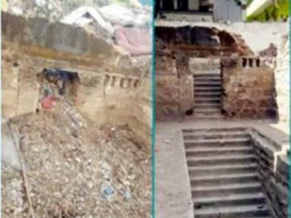 Bhagwandas Bagh step-well cleaning, restoration