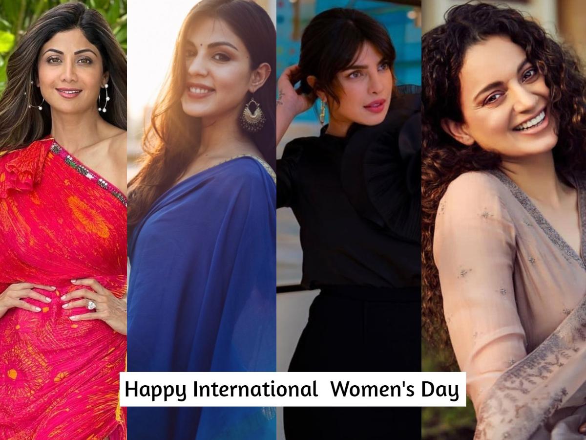 International Women's Day 2021: Rhea Chakraborty, Kangana, & others laud all strong women