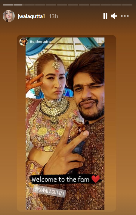 Trending: Pics from Jwala Gutta,Vishnu Vishal's wedding in Hyderabad