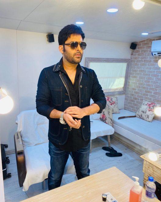 '5-star hotel room on wheels': Inside Kapil Sharma's swanky vanity van