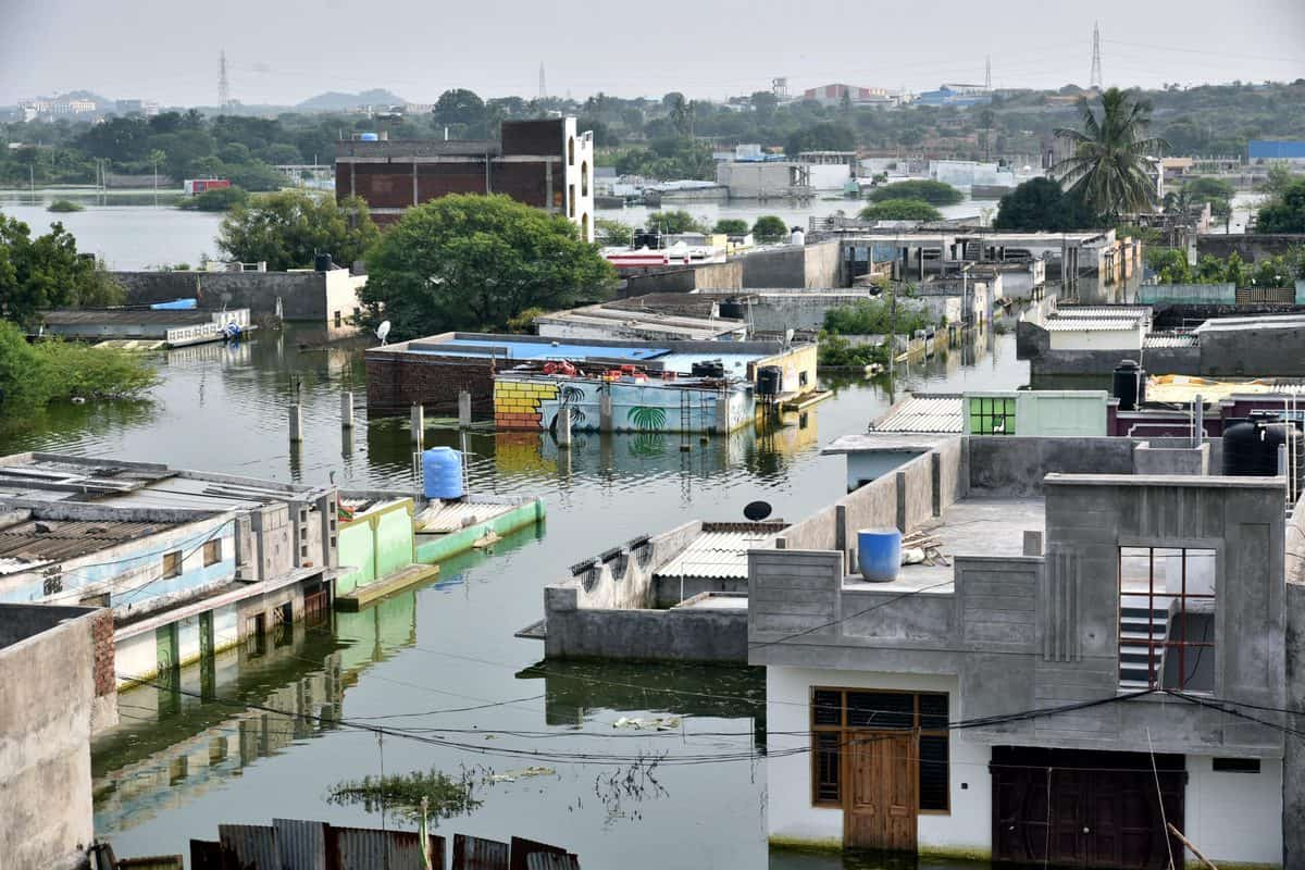 Hyderabad: Survey reveals 80% of Old City slums affected by lockdown, floods