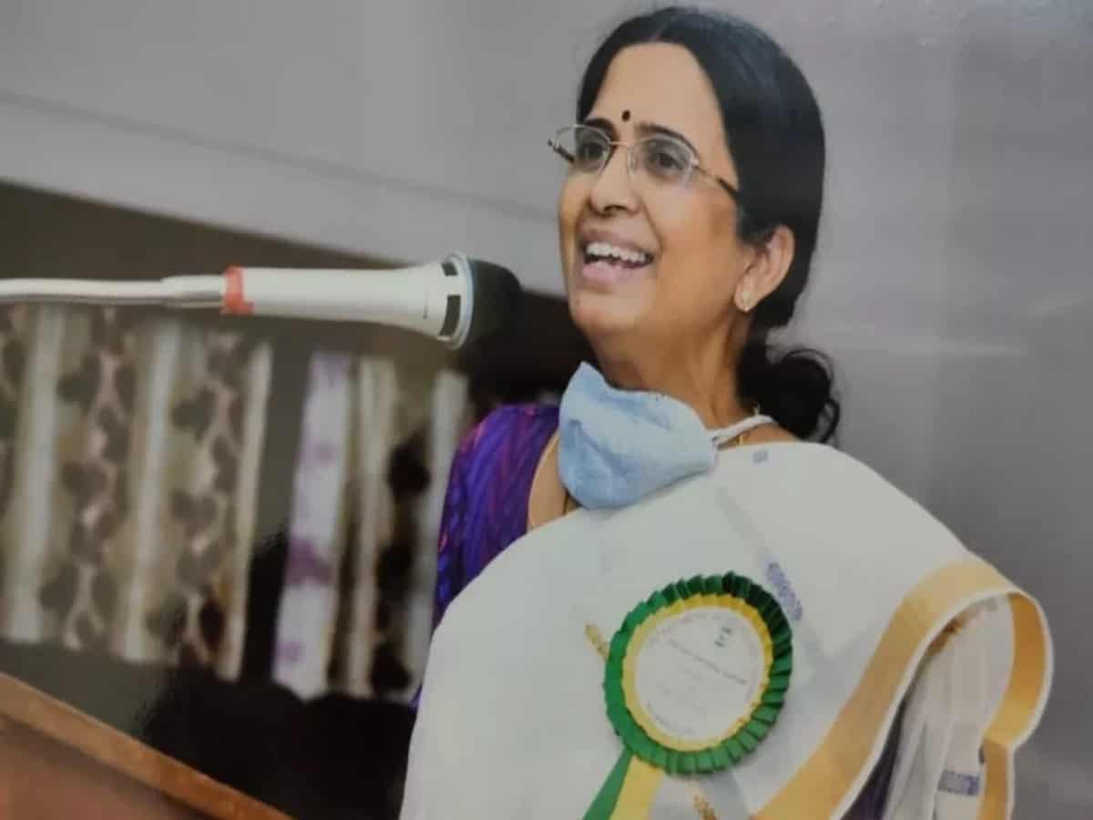 UoH alumni, Prof. Bharathi Harishankar elected Fellow of Royal Society of Arts