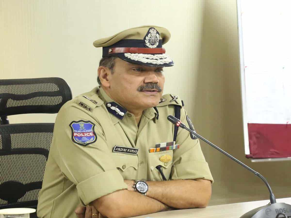 CP asks police personnel to protect themselves from virus