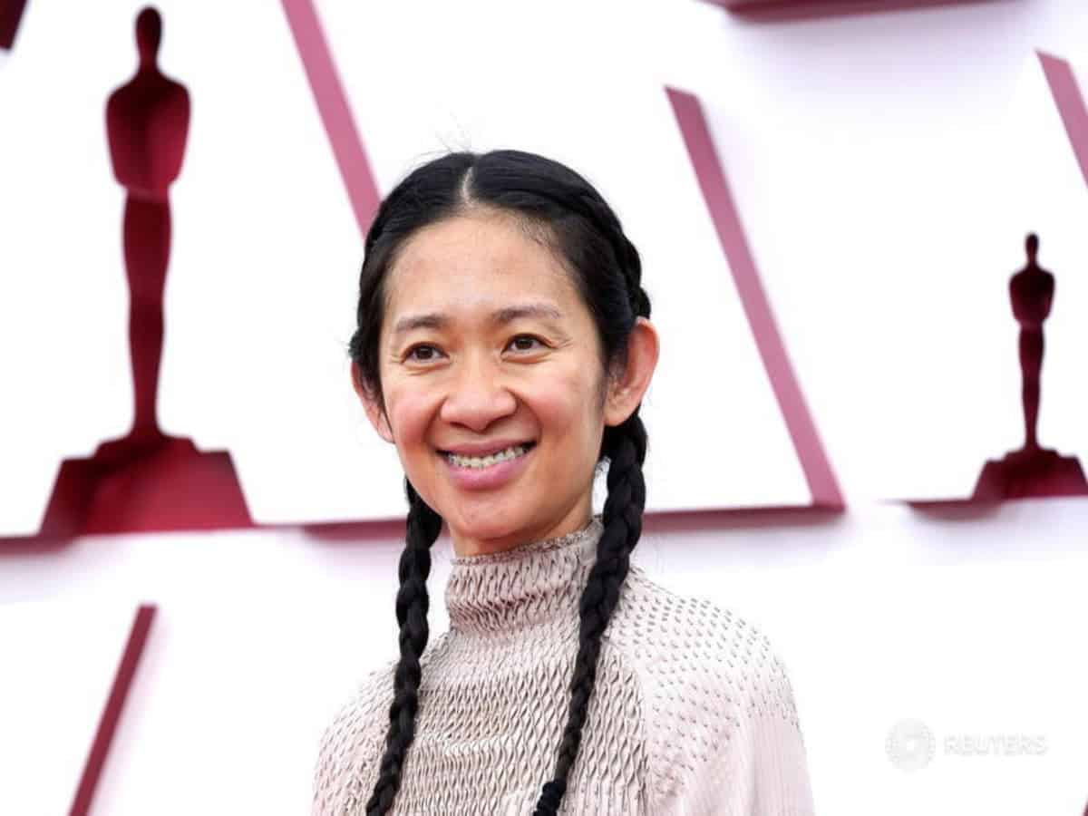 Chloe Zhao creates history by becoming second woman to win Oscars for best director