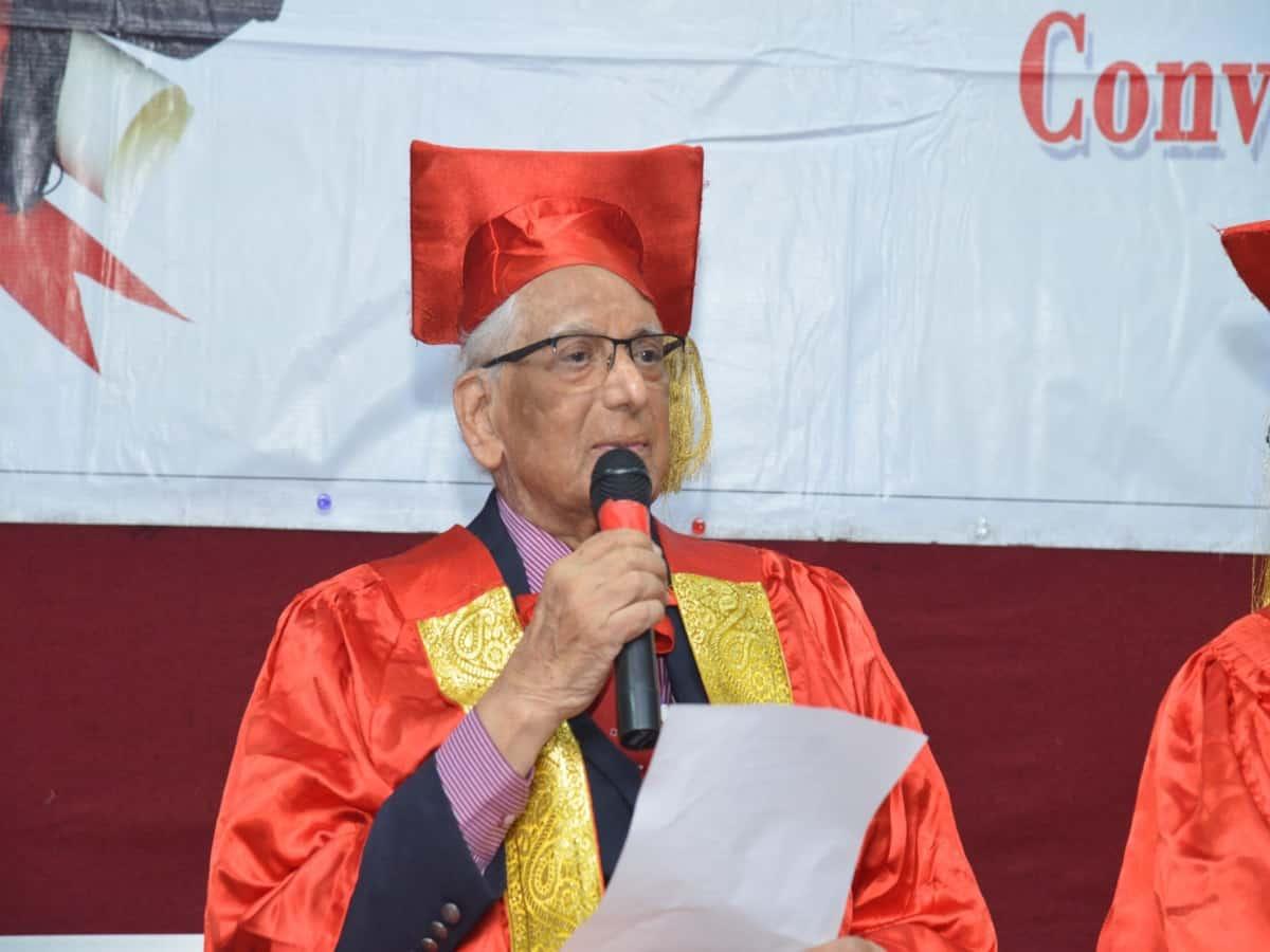 Renowned radiologist, founding NIMS director Kakarla Subbarao dies at 96
