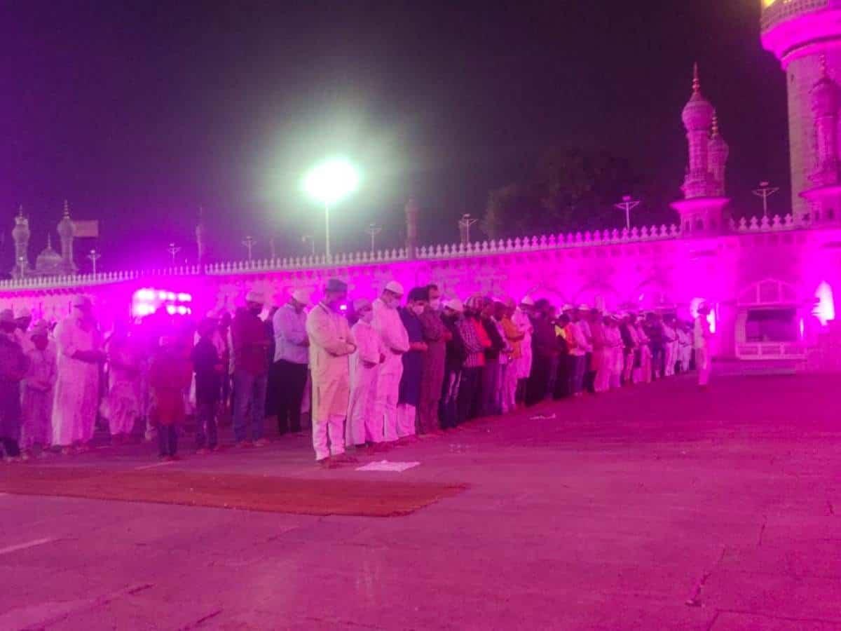 Hyderabad: Taraweeh prayers at Makkah Masjid to continue