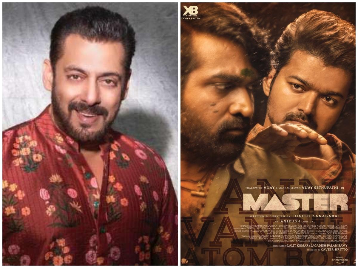 Salman Khan to star in Hindi remake of Vijay's Tamil movie Master?