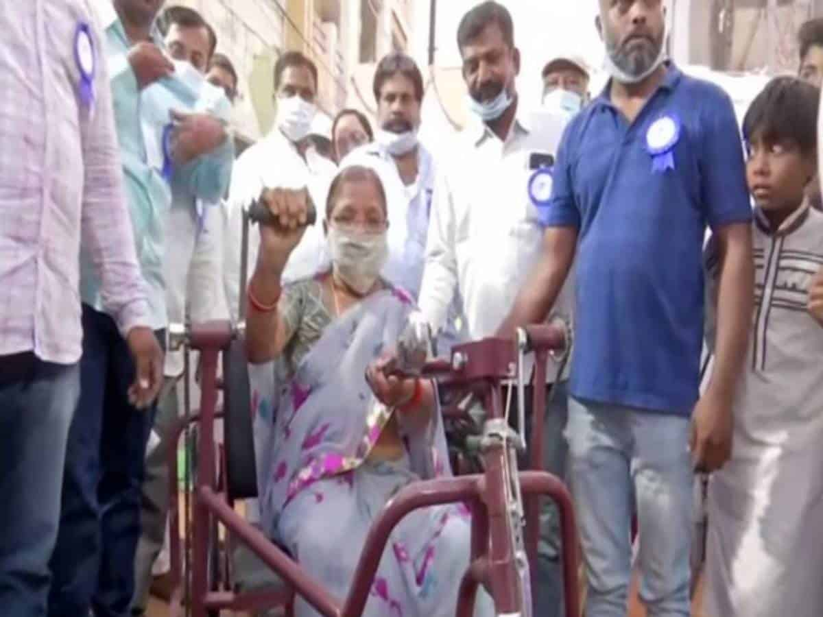 Hyderabad-based NGO aims to bring hope to differently-abled people